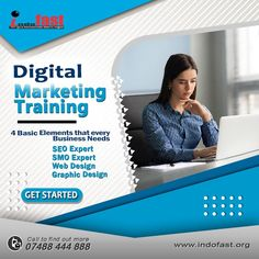 DIGITAL MARKETING TRAINING IN PATNA We are a young, passionate and expert digital marketing training company based in the capital of Bihar, Patna. We are always dedicated and committed to give world class digital marketing training including complete seo,website design and development,logo/graphics design, email marketing, affiliated marketing and many other training with live projects in Patna. For More Info:: Visit👉www.indofast.org Call us on👉7903760898 Marketing Training, Email Marketing, Affiliate Marketing, Social Media Marketing, Digital Marketing, Seo Website Design, Web Design, Graphic Design, Train Companies