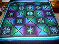 Moon Glow Quilt  Amish Made Quilt in by QuiltsByAmishSpirit