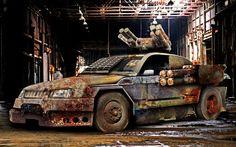 Mustang: external/bolt-on 2x4-tube ToW-3 ATGM pods; turret/2x3-tube javelin AAML.