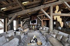 Chalet Brickell guesthouse by Pure Concept Megeve France 02 RUSTIC HOTELS! Chalet Brickell guesthouse by Pure Concept, Megève France