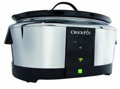 A Smarter Slow Cooker: Controlled by Your Phone with Belkin app- saw on CBS Sunday Morning - WANT!