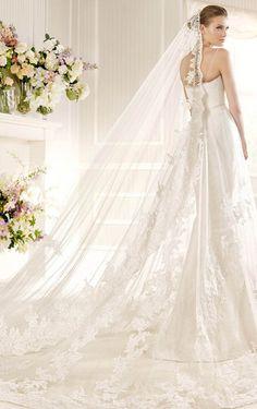 Magnificent Mermaid Floor-length Spaghetti Straps Dress, Wedding Dresses Shop Online