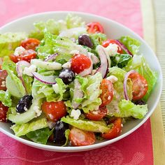 Greek Salad that is OPA !!
