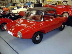 I love that you can't tell if this car is coming or going... '64 Zeta