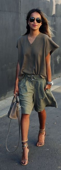 Shades Of Khaki Outfit