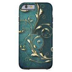 Shop Gold Florentine Scrolls Case-Mate iPhone Case created by GrafixMom.