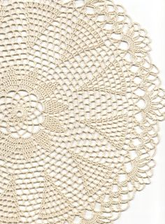 Crochet doily lace doily table decoration by faustapink900 on Etsy, £8.00