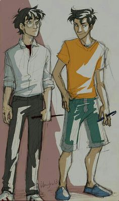 Harry and Percy by Burdge Bug