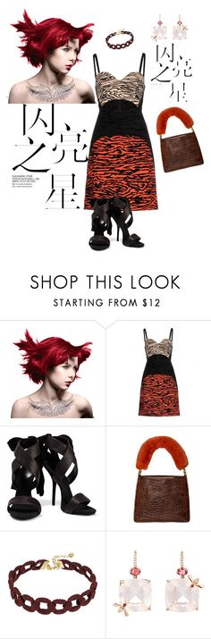 """""""Red"""" by frenchfriesblackmg ❤ liked on Polyvore featuring Manic Panic NYC, Proenza Schouler, Giuseppe Zanotti, Handle, Vanessa Mooney and Sharon Khazzam"""