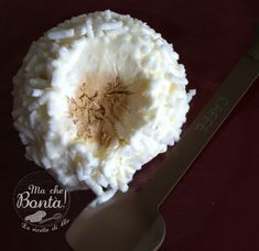 #Tartufo #bianco #semifreddo di Cle (White #truffle #icecream) - ITA ENG #recipe #coffee #meringue