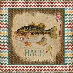 Bass-Chevron by Jean Plout