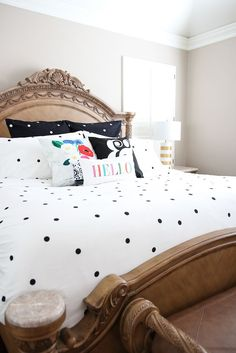 kate spade new york deco dot bedding exclusively at Bed Bath & Beyond!
