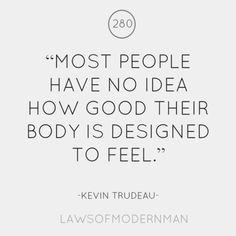 This is one of many reasons why we eat real whole foods. Your body will feel unbelievably amazing!