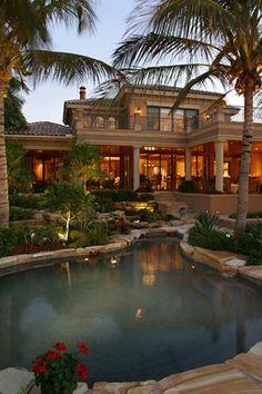 The Back Side - Humphrey - Rosal Architects - Naples, Florida
