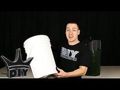 HOW TO: Build an XL aquarium canister filter with a 5 gallon bucket - 1 . Pond Filter Diy, Diy Aquarium Filter, Pond Filter System, Pond Filters, Home Aquarium, Tropical Aquarium, Aquarium Fish, Aquarium Ideas, Tropical Fish