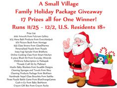 FAMILY HOLIDAY PACKAGE GIVEAWAY