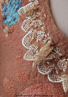 Incorporating lace