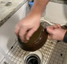 How to Restore a Cast Iron Pan   How to Season a Cast Iron Pan   How to remove rust from cast iron   The easy way to restore a pan   How to clean rusty cast iron   Easy rust remover   The right way to season a pan   Simple trick for removing rust from a cast iron pan   DIY Cast Iron Pan restoration   #TheNavagePatch #CastIron #RustRemoval #HowTo #Tutorial   TheNavagePatch.com Removing Rust, How To Remove Rust, Cleaning Rusty Cast Iron, Searing Meat, Arm Work, Seasoning Cast Iron, Cooking Tomatoes, Iron Pan, Restore