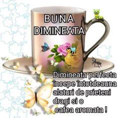 Imagini buni dimineata si o zi frumoasa pentru tine! - BunaDimineataImagini.ro Good Morning, Mugs, Tableware, Buen Dia, Dinnerware, Bonjour, Tumblers, Tablewares, Mug