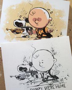 Skottie Young: Snoopy We're Home.