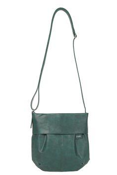 Frauentaschen :: MADEMOISELLE :: M5 | ZWEI Taschen Handtasche :: crossbody :: petrol :: grün :: lederfrei