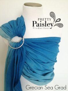 Custom HandDyed Osnaburg Sling by PrettyPaisleyBabe on Etsy, $60.00