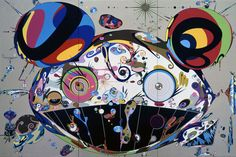 Murakami's work is part of a growing movement of Japanese pop art, with Murakami frequently referred to as Japan's Andy Warhol. Description from jonyang.org. I searched for this on bing.com/images