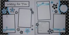 WAITING FOR YOU 12x12 Premade Scrapbook Pages by JourneysOfJoy, $27.00