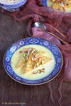 THE CHEF and HER KITCHEN: Shahi Tukra | Shahi Tukda | Easy Indian Desserts