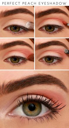How-To: Perfect Peach Eyeshadow Tutorial