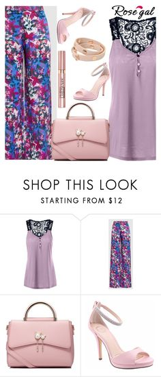 """""""Rosegal"""" by niki140 ❤ liked on Polyvore featuring WithChic, I. MILLER, Tory Burch and L'Oréal Paris"""