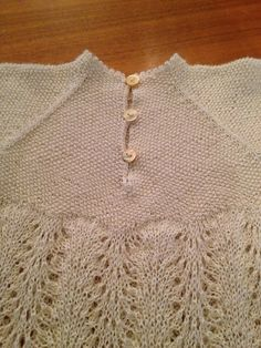 Ravelry: tonjecam's Dåpskjole Christening Gowns, Barn, Knitting, Sweaters, Fashion, Embroidery, Moda, Christening Dresses, Converted Barn