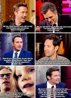 Who wants to see Hawkeye?
