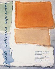 guardi artistico - aquarello - Aquarellblock rau | boesner.com