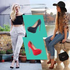 Um look cool e simples é com o peep toe + calça! Amamos essa combinação!#love #instagood #happy #beautifuls #girl #smile #fashion #summer #moda #estilo #instamood #instalove #best #sapatos #sapato