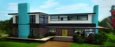 Sims 3 Finds - REQUESTED Giada house - 4br 3ba modern at Farfalle Sims