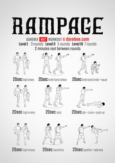 HIIT 2 Fit - Rapid Fat Loss And Building Chiseled Muscles In Matter Of Minutes! Home Boxing Workout, At Home Workouts, Neila Rey Workout, Mma Workout, Workout List, Workout Routines, What Is Hiit, Short Workouts, Darebee