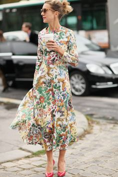 #inspiring #outfit #looks #fashion #style #styling #flower #prints