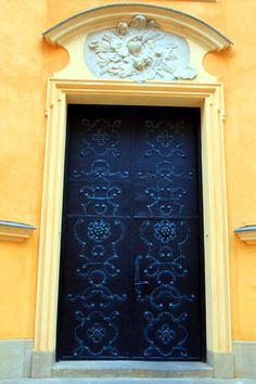 Door, Old Town, Warsaw
