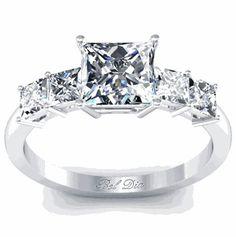 #deBebians                #ring                     #Princess #Five #Diamond #Engagement #Ring          Princess Five Diamond Engagement Ring                                         http://www.seapai.com/product.aspx?PID=152918