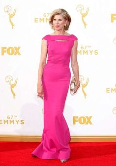 Christine Baranski arrives at the 67th Primetime Emmy Awards at the Microsoft Theater in Los Angeles... - Danny Moloshok/Invision/AP