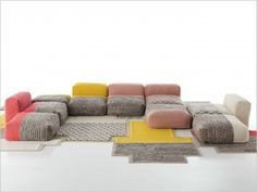 1000 ideas about canap modulable on pinterest mobilier for Canape urquiola