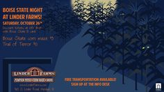 What do you get when you cross a professor w/ a vampire? (A blood test!)   #BoiseState Night at Linder Farms is Oct. 26!