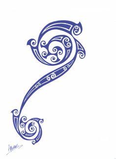 Celtic tribal tattoo design 1 by ~amichaels on deviantART