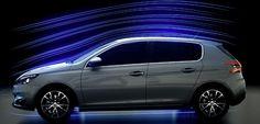 Peugeot 308 är 140 kg lättare än sin föregångare: bilen är kompakt och aerodynamisk, producerad i lättare material.