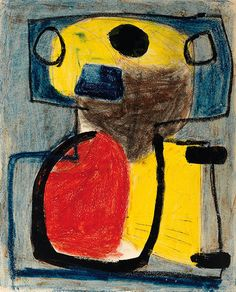 PARIS — Karel Appel would start drawing by shimmering bright muck or line around until it eventually formed into semi-abstract philosophical lava, or monkey shit, or the poetry of release. Cobra Art, Gouache, Organic Art, Art Brut, B 13, Dutch Painters, Mark Rothko, Dutch Artists, Art Moderne