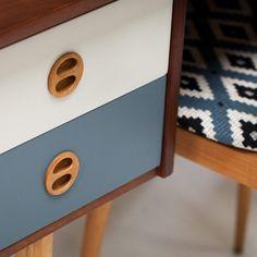 bureau vintage scandinave années 50 #vintage #annees50