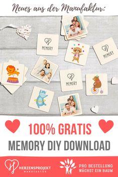 Der Spielspaß für deine Familie. Gestalte dir auf unserer Seite dein eigenes Memory Spiel. Mit Symbolen deiner Wahl + Fotos deiner Familie. Es ist zu 100% gratis und du gehst keine Verpflichtungen ein. Dein Memory schicken wir dir als Datei zu. Schneide es aus - für einen tollen Spielspaß. #Geschenkidee #Baby #Geburt #Spielidee #Kinderspiele #DIY Spiel Spiele mit deinen Kindern dieses personalisierte Memory und vertreibe damit die Langeweile! Ein toller Spielspaß für die ganze Familie. Playing Cards, Memories, Games, Pictures, Baby Delivery, Memory Games, Map Of The Stars, Play Ideas, Souvenirs
