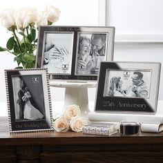 WEDDING AND ANNIVERSARY FRAMES  by Roman Homemade Anniversary Gifts, Homemade Wedding Gifts, Anniversary Gifts For Couples, Anniversary Frames, First Anniversary, Anniversary Ideas, Birthday Gifts For Sister, Our Wedding Day, Couple Gifts