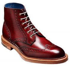 Barker Shoes Style: Butcher - Cherry Calf